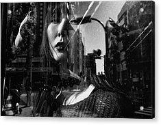 Portrait Acrylic Print by Tatsuo Suzuki
