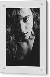 Acrylic Print featuring the photograph Portrait Woman by Jeepee Aero