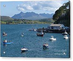 Portree Harbour - Isle Of Skye Acrylic Print