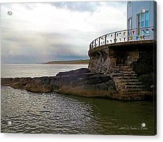 Portrush Northern Ireland Acrylic Print by Tara Potts
