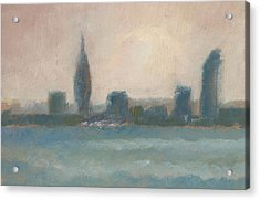 Portsmouth Dawn Part Four Acrylic Print by Alan Daysh