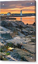 Portsmouth Harbor Light House As Seen Acrylic Print