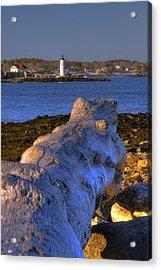 Portsmouth Harbor Light Acrylic Print by Joann Vitali