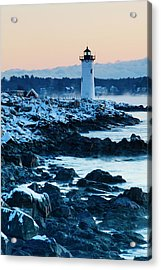 Portsmouth Harbor Lighthouse In New Acrylic Print