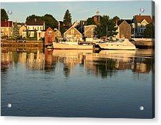 Portsmouth Harbor Nh Acrylic Print