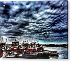 Portsmouth Tugboats Acrylic Print