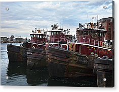 Portsmouth Tugs Acrylic Print