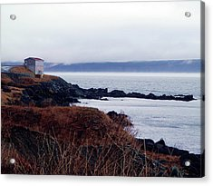 Portugal Cove Acrylic Print by Zinvolle Art
