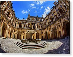 Portugal, Tomar, The Convent Acrylic Print by Terry Eggers