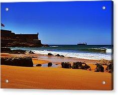 Portuguese Coast Acrylic Print by Marco Oliveira