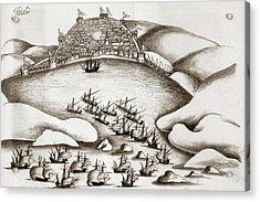 Portuguese Outpost Acrylic Print