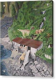 Portuguese Sawmill Acrylic Print by Hilda and Jose Garrancho