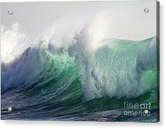 Portuguese Sea Surf Acrylic Print