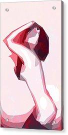 Posing Acrylic Print by Steve K