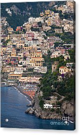 Positano Acrylic Print by Brian Jannsen