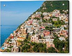 Positano City Acrylic Print