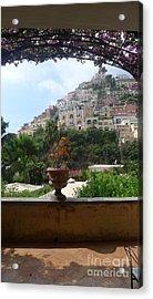 Positano - View Acrylic Print