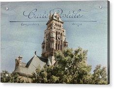 Post Card Acrylic Print