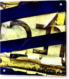 Lamppost 1b Acrylic Print