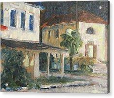 Post Office Apalachicola Acrylic Print by Susan Richardson