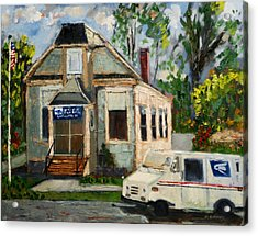 Post Office At Lafeyette Nj Acrylic Print