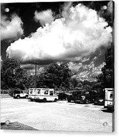 Postal Cloud Acrylic Print