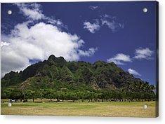 Postcard From Oahu Acrylic Print by Joanna Madloch