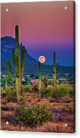 Postcard Perfect Arizona Acrylic Print