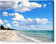 Postcard Perfect Acrylic Print by Margie Amberge