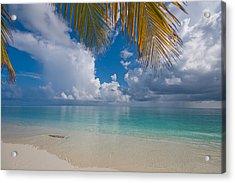Postcard Perfection. Maldives Acrylic Print by Jenny Rainbow