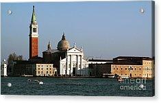 Postcard View Acrylic Print by John Rizzuto