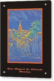 Poster - From The Heights Acrylic Print by Marcia Meade