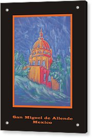 Poster - The Basilica Acrylic Print by Marcia Meade