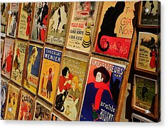 Posters In Paris Acrylic Print by Dany Lison