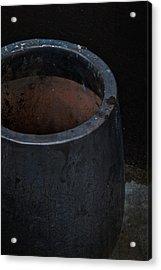 Pot Of Darkness Acrylic Print