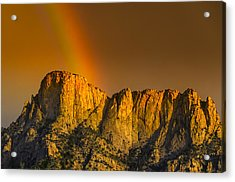 Pot Of Gold Acrylic Print by Mark Myhaver