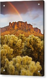 Pot Of Gold Acrylic Print by Peter Coskun