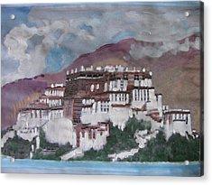 Potala Palace In Lhasa Tibet Acrylic Print