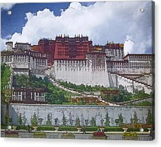 Potala Palace Acrylic Print