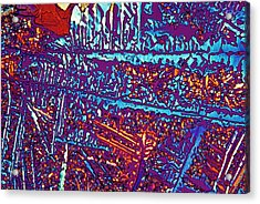 Potassium Salicylate Acrylic Print