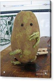 Potato Man Acrylic Print by Samantha Geernaert