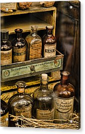 Potions And Cure Alls Acrylic Print