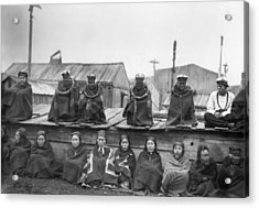 Potlatch Ceremony, 1894 Acrylic Print by Granger
