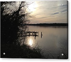Acrylic Print featuring the photograph Potomac Reflective by Charles Kraus