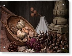 Potpourri Still Life Acrylic Print by Tom Mc Nemar