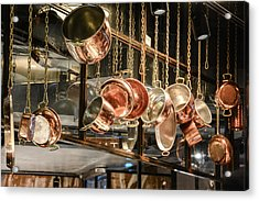 Pots And Pans Acrylic Print by Priyanka Ravi