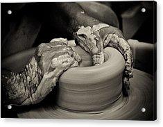 Potter Acrylic Print