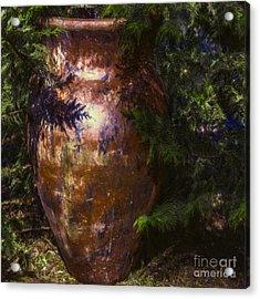 Acrylic Print featuring the photograph Potters Clay by Jean OKeeffe Macro Abundance Art