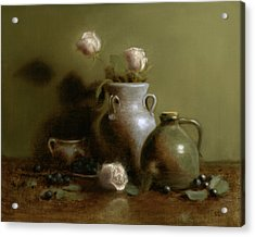 Pottery Collection. Acrylic Print by Christy Olsen