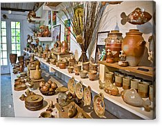 Pottery In La Borne Acrylic Print by Oleg Koryagin